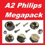 A2 Bolt, Nuts & Phillip Screw Megapack - Kawasaki KLX250